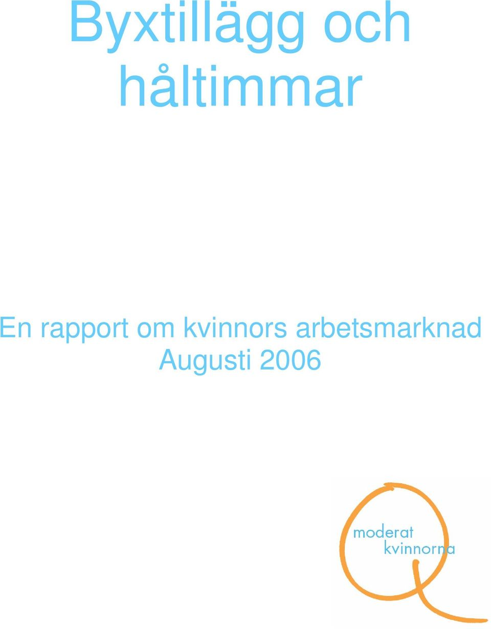 rapport om