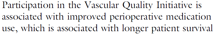 De Martino RR, et al. J Vasc Surg 2015; in press.