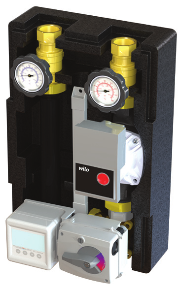 THERMOMATIC 125 Technical data Options: Without actuator Thermomatic TVM, actuator only (for external control), 230 V Thermomatic CC, constant temp.