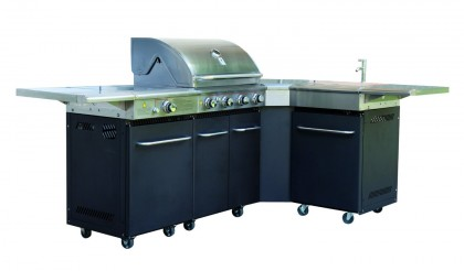 Smoker grillvagn
