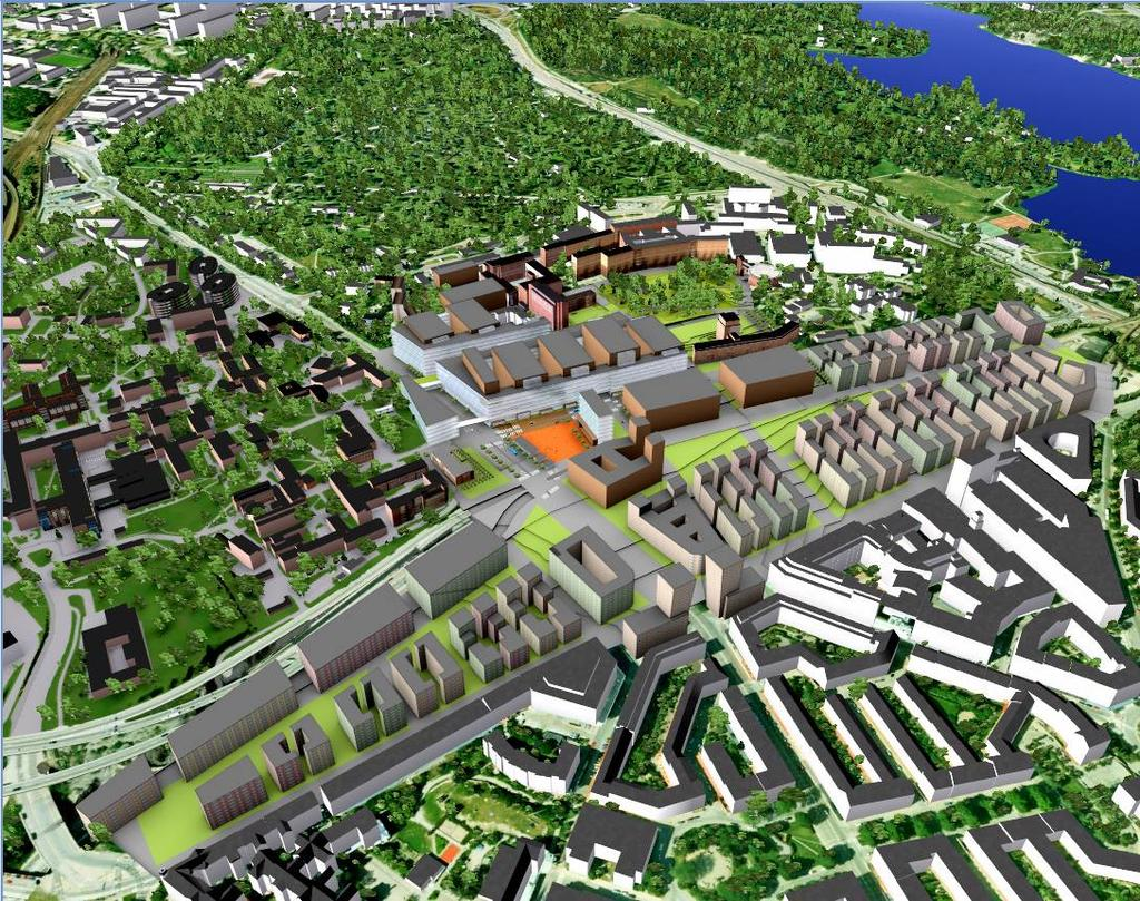 VISION FOR THE REGION STOCKHOLM LIFE The Stockholm Life - North Station