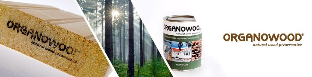 Functional wood Products OrganoWood - modified wood Fire and rot