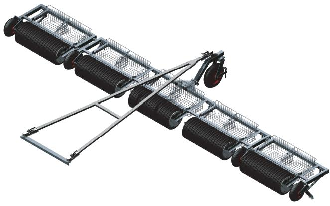 RM3 - RM 5 Ringmaster We offer ball pickers in 5 different sizes with a picking width of up to 6 m.