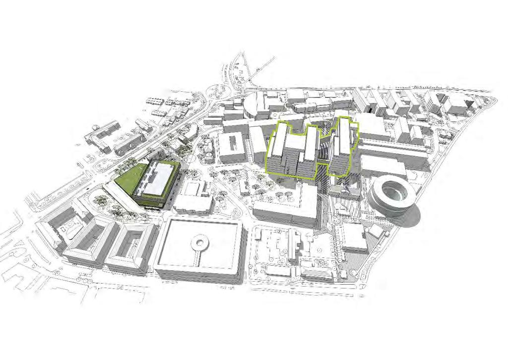 Malmö Hospital Campus in 2024 HOSPITAL BUILDINGS Somatic care 100