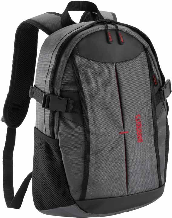 backpack material 1680D Polyester/ 600D polyester / PU leather meas. h/w/d approx.