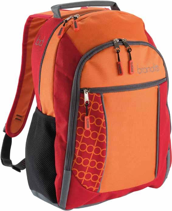 Ryggsäck / backpack material 600D polyester meas. h/w/d approx.