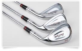 Just as long Just as forgiving More accurate Improved feedback PROGRESSIVE WEIGHTING Each iron in your set is