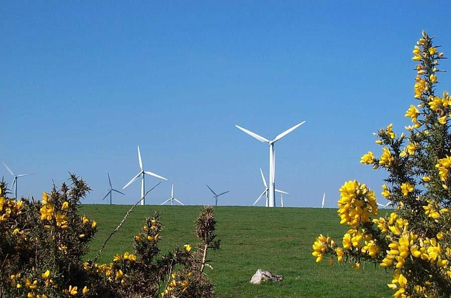 Repowering Cornwall s Wind Farms Photo: