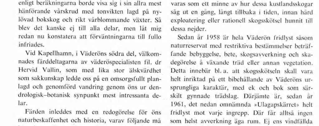 Exkursion till Hallands Väderö 1969 M.