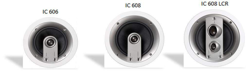 "ohm IC 608 LCR 8"" bas, 55-22,000hz, 89db, Cutout: 244mm, Djup:"