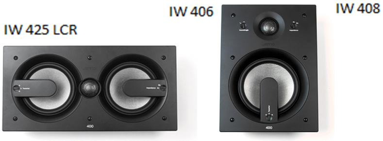 "406 6,5"" bas, 65-22,000hz, 88db, Cutout: 201mm, Djup:"