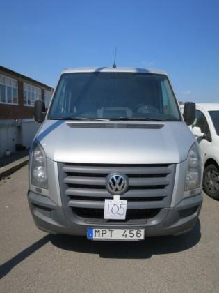 13:03 1 VW Crafter 35, 2011, ca 27300
