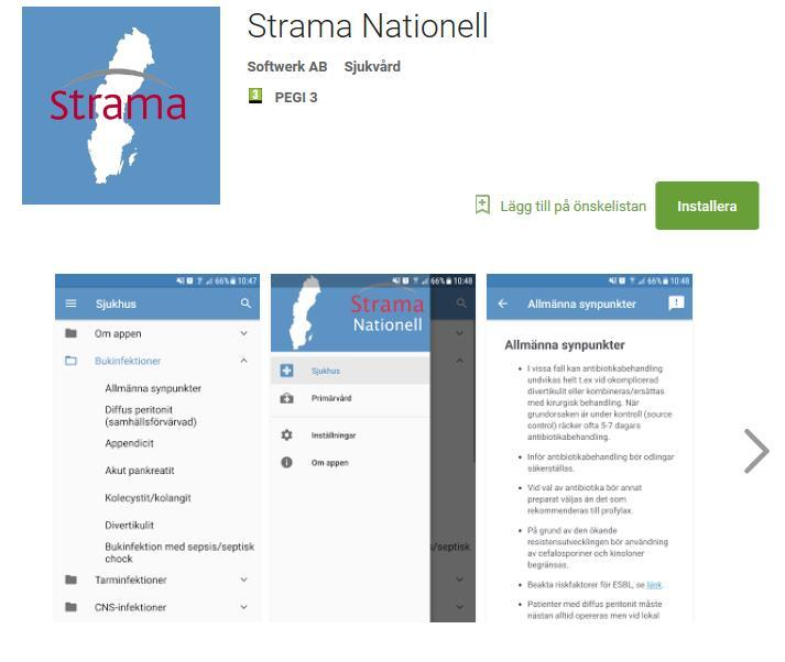 Appen Strama nationell